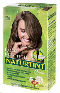 Naturtint Root Retouch Crème, Dark Brown Shades