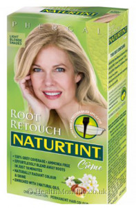 Naturtint Root Retouch Crème, Light Brown Shades