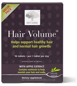 New Nordic Hair Volume with Apple Extract
