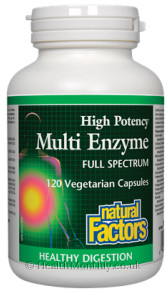 Natural Factors Multi Enzyme Full Spectrum High Potency