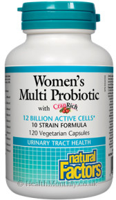 Natural Factors Women's Multi Probiotic