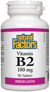 Natural Factors Vitamin B2