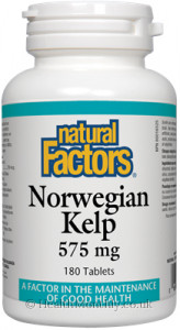 Natural Factors Norwegian Kelp