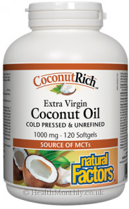 Natural Factors CoconutRich