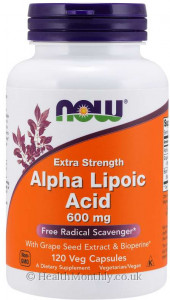 Now® Alpha Lipoic Acid, Extra Strength