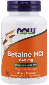 Now® Betaine HCl