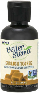 Now® BetterStevia®, English Toffee