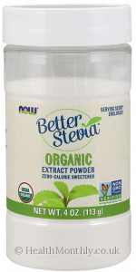 Now® BetterStevia®, Organic Extract Powder