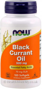 Now® Black Currant Oil
