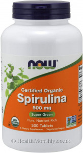 Now® Certified Organic Spirulina