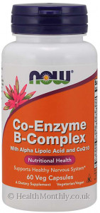 Now® Co-Enzyme B-Complex