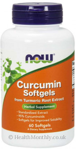 Now® Curcumin from Turmeric Root Extract