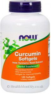 Now® Curcumin Softgels