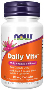 Now® Daily Vits Multivitamin & Mineral