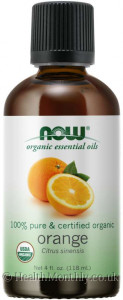 Now® Essential Oils, 100% Pure & Certified Organic Orange Oil