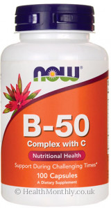 Now® B-50 Complex with C