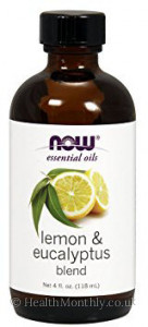 Now® Essential Oils, Lemon & Eucalyptus Oil Blend