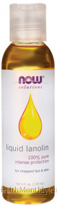 Now® Liquid Lanolin, 100% Pure Intense Protection