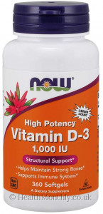 Now® High Potency Vitamin D-3