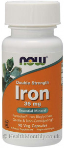 Now® Iron, Double Strength
