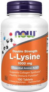 Now® L-Lysine, Double Strength