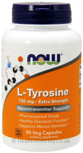 Now® L-Tyrosine, Extra Strength