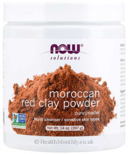 Now® Moroccan Red Clay Powder