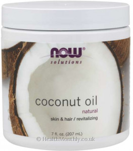 Now® Natural Coconut Oil