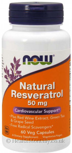Now® Natural Resveratrol