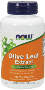 Now® Olive Leaf Extract, Extra Strength