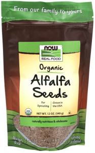 Now® Real Food, Organic Alfalfa Seeds