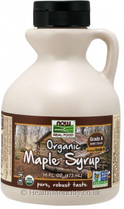 Now® Real Food, Organic Maple Syrup Grade A