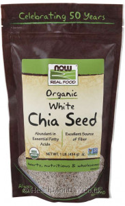 Now® Real Food, Organic White Chia Seed