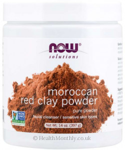 Now® Red Clay Powder Moroccan