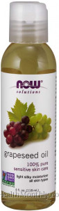 Now® Solutions, 100% Pure Grapeseed Oil