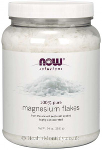Now® Solutions, 100% Pure Magnesium Flakes