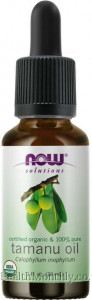 Now® Solutions, Certified Organic & 100% Pure Tamanu Oil