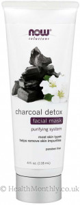 Now® Solutions, Charcoal Detox Facial Mask