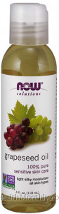 Now® Solutions Grapeseed Oil, 100% Pure
