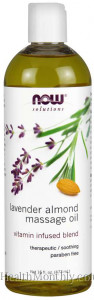 Now® Solutions, Lavender Almond Massage Oil