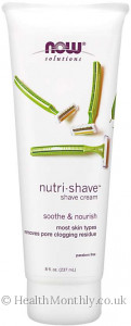 Now® Solutions, Nutri-Shave™ Cream