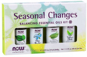 Now® Solutions, Seasonal Changes Balancing Oil Kit