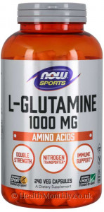 Now® Sports, L-Glutamine, Double Strength