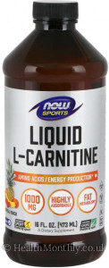 Now® Sports, L-Carnitine Liquid