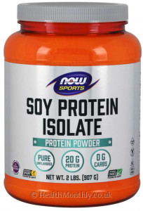 Now® Sports, Soy Protein Isolate Powder