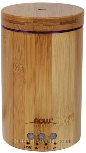 Now® Ultrasonic Real Bamboo Essential Oil Diffuser