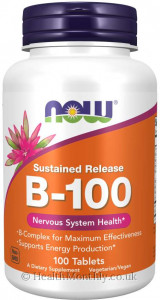 Now® Vitamin B-100, Sustained Release