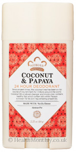 Nubian Heritage Coconut and Papaya 24 Hour Deodorant