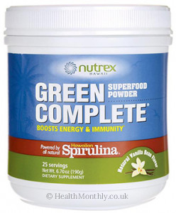 Nutrex Hawaii Green Complete Superfood Powder