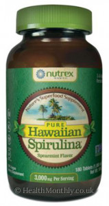 Nutrex Hawaii Hawaiian Spirulina 3 A Day